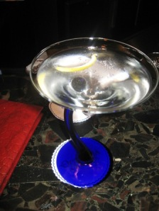 A fine martini at martini bar
