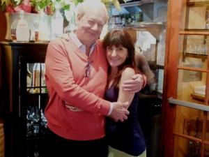 Silvio De Mori with Patti Pietschmann, the dining diva